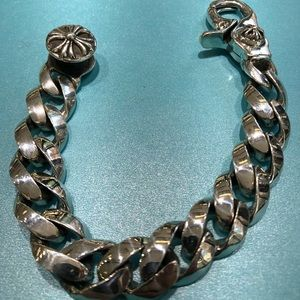 Other - Classic link men's bracelet by chrome hearts